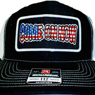 """Come On Now"" Patriotic Snapback Trucker"